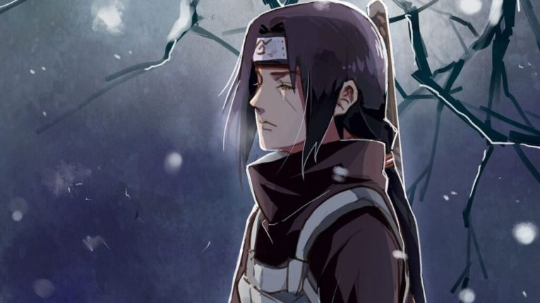 itachi uchiha trees anime wallpaper