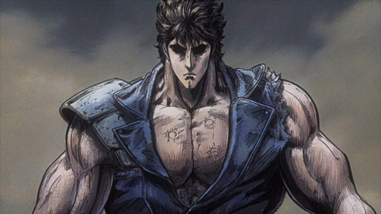 kenshiro anime wallpaper muscular