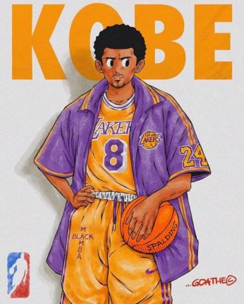 kobe anime art goathe