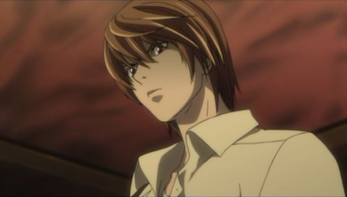 light yagami from death note brown hair 1