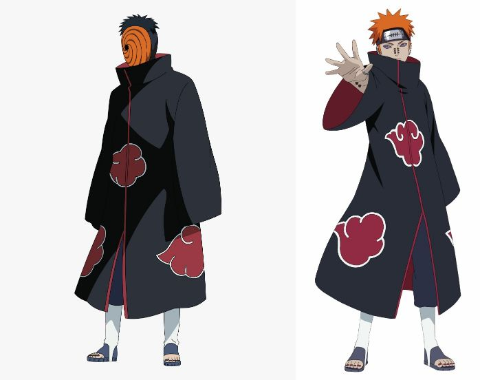 madara and pain naruto 2 | 5 Dark Life Lessons From The Six Paths Of Pain (Naruto)