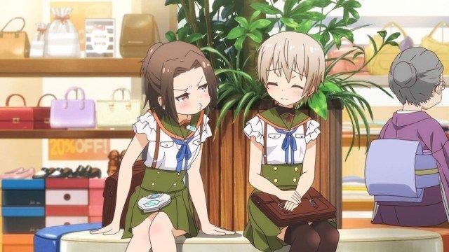 miki and her friend gakkou gurashi
