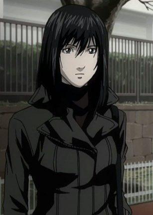 naomi death note black hair black jacket