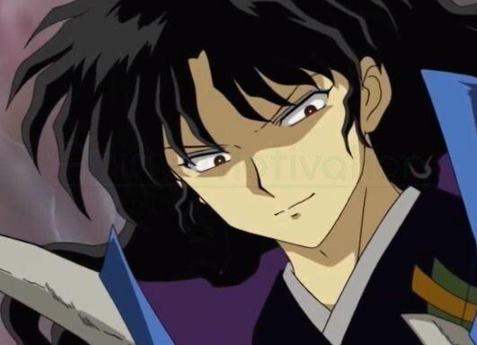naraku inuyasha smirk