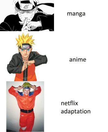 naruto netflix anime meme