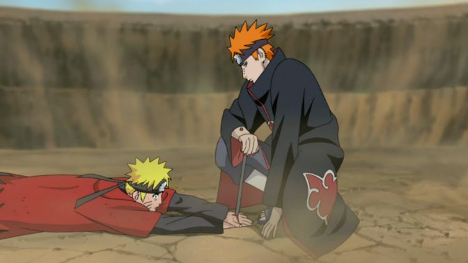 pain vs naruto nagato | 5 Dark Life Lessons From The Six Paths Of Pain (Naruto)
