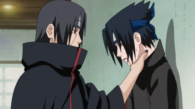 sasuke choked by itachi