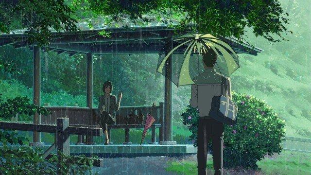 the garden of words anime movie makoto shinkai