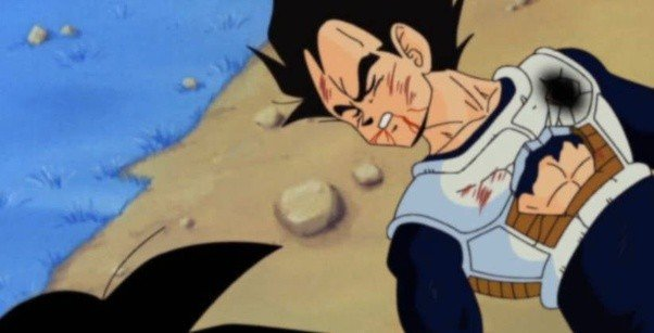 vegeta last words dbz