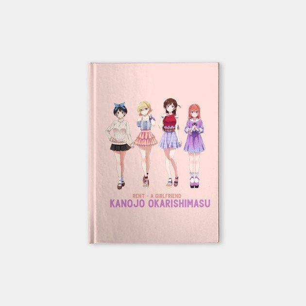 Rent A Girlfriend Pink Notebook
