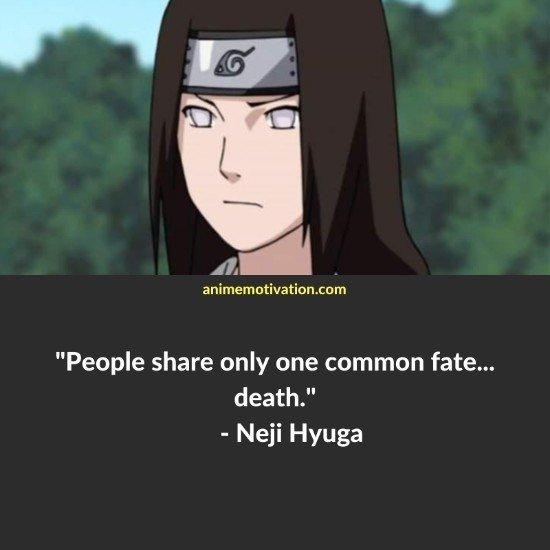 Neji Hyuga quotes naruto 4
