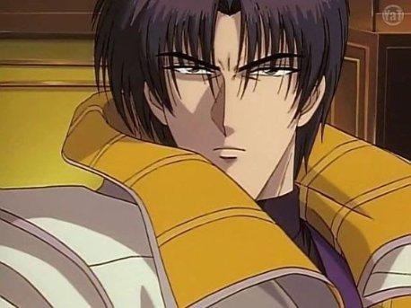 Shinomori Aoshi Rurouni Kenshin