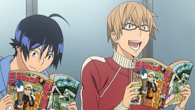 bakuman main characters manga