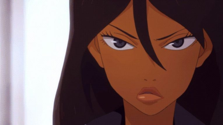 michiko milandro black female character