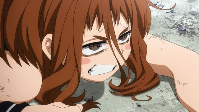 ochako struggling vs bakugo