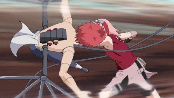 sakura defeats sasori