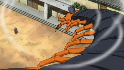 sakura kills centipede pain arc