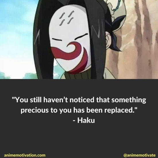 Haku quotes naruto 2