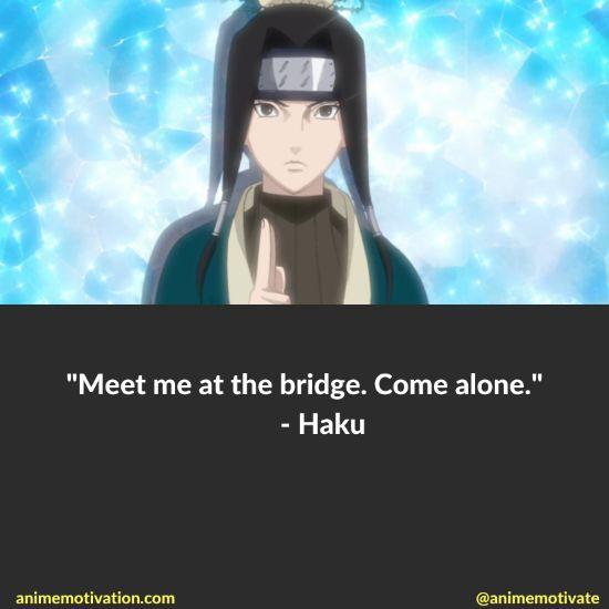 Haku quotes naruto 5