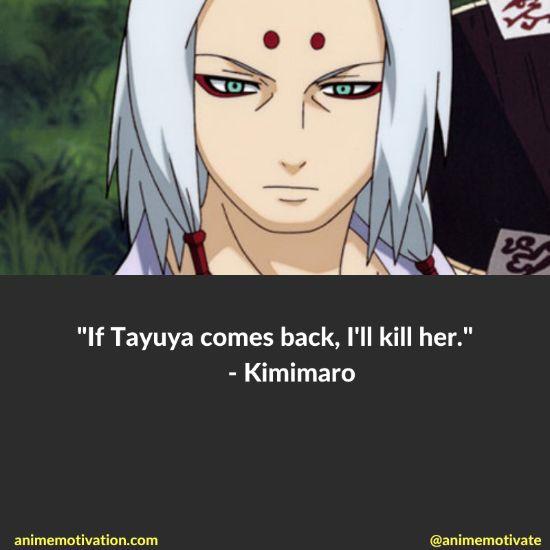 Kimimaro quotes naruto 7