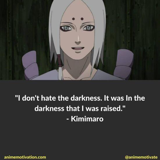 Kimimaro quotes naruto 8