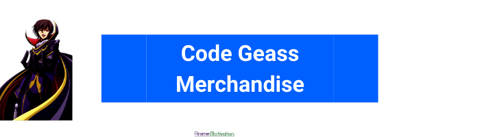 code geass merch anime motivation