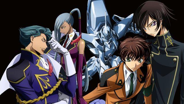 code geass rebellion anime