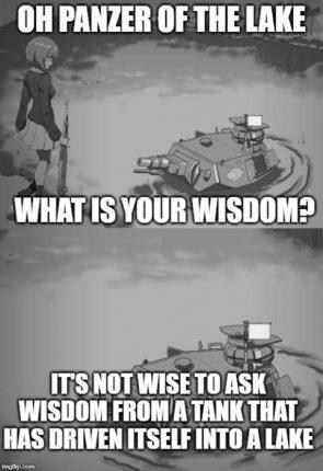 funny anime wisdom