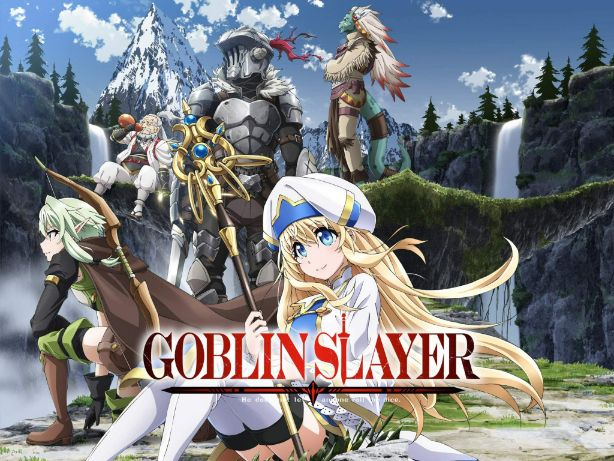 goblin slayer cover anime characters horror
