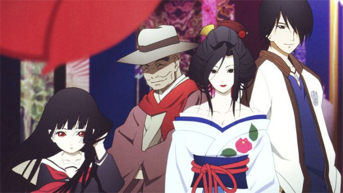 hell girl anime characters horror