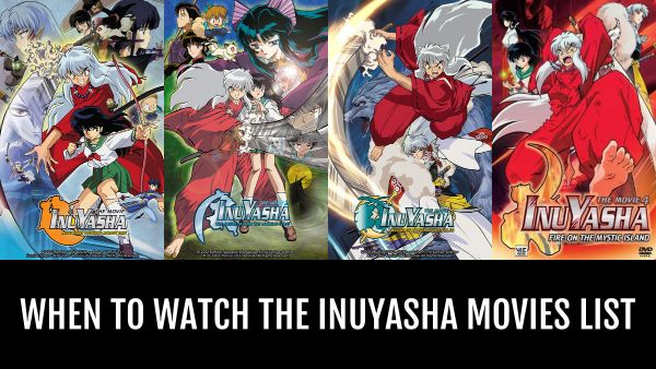 inuyasha movies