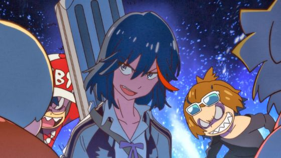 kill la kill ryuko bad ass