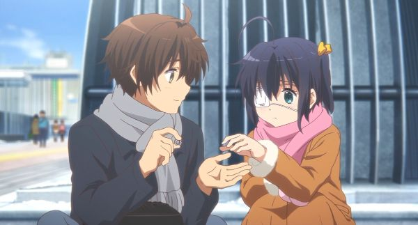rikka and yuta cute moments