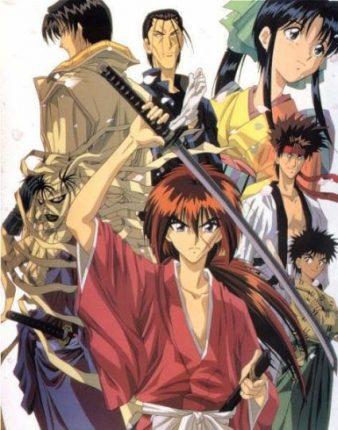 rurouni kenshin classic samurai anime