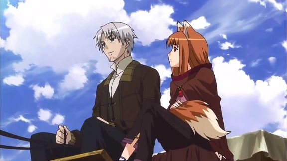 spice and wolf carriage anime