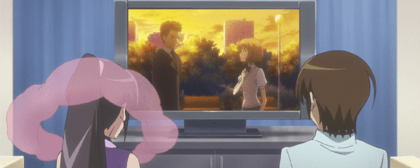 the world god only knows watching tv e1599216312154