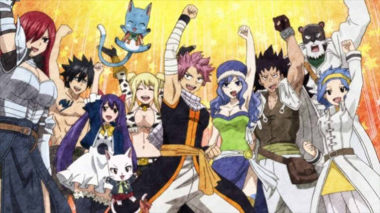 victory shout fairy tail