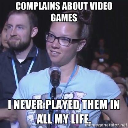 video games sjw meme