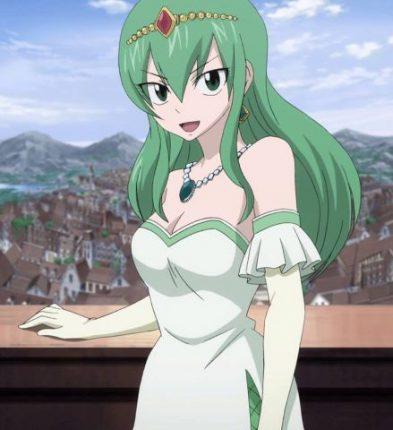 Hisui E. Fiore fairy tail princess 1