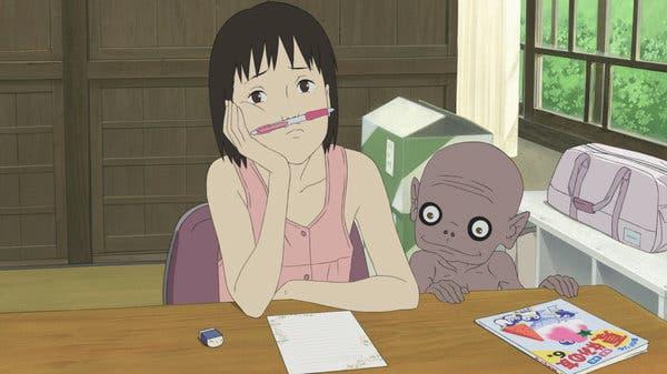 a letter to momo anime film youkai