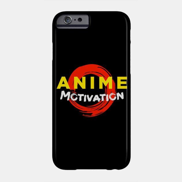 anime motivation phone case 1