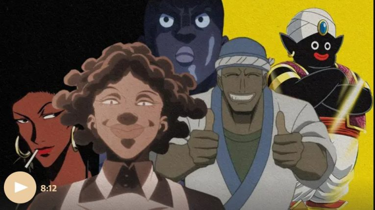 black anime characters racism guardian newspaper