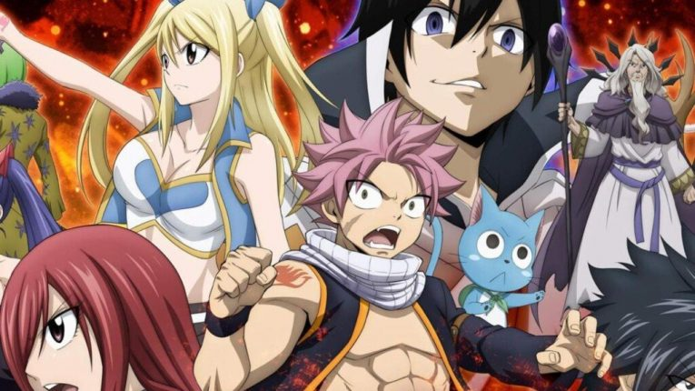 Fairy Tail Characters Final Series