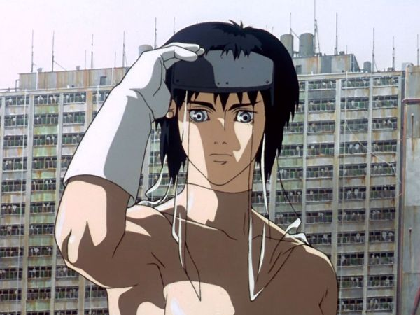 ghost in the shell anime movie 1995