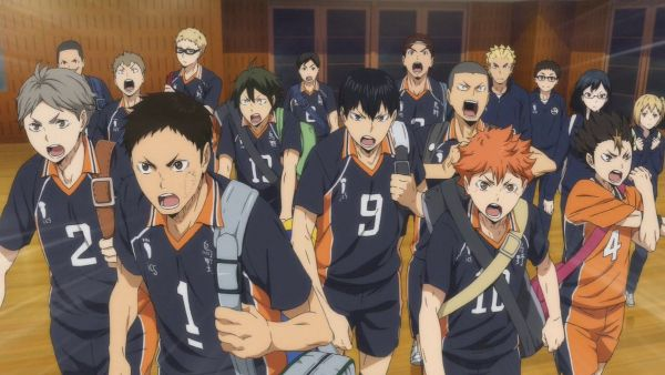 haikyuu anime team