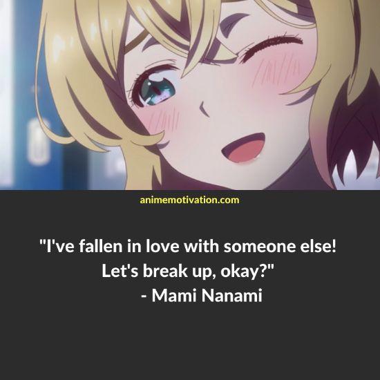 mami nanami quotes rent a girlfriend