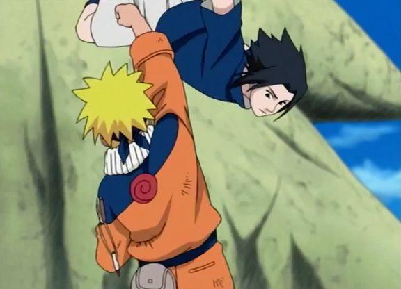 naruto vs sasuke major battle