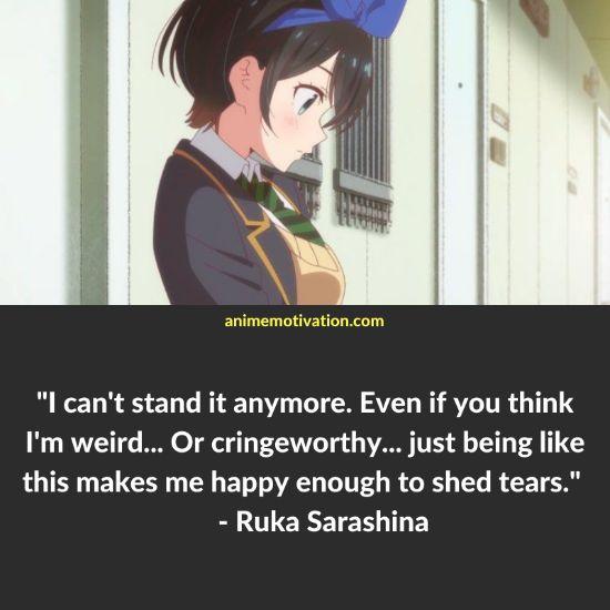 ruka sarashina quotes rent a girlfriend