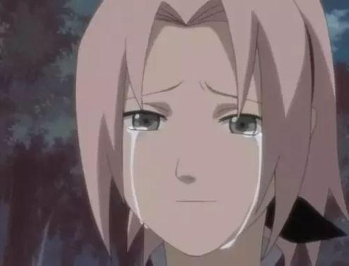 sakura haruno cry kid
