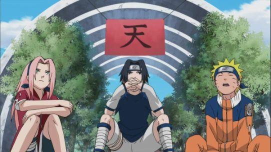 sakura haruno sasuke and naruto team 7